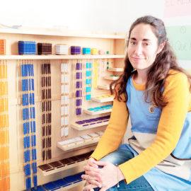 Cler Maestra guía Montessori Málaga