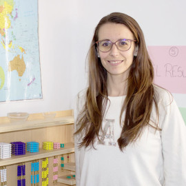 Beatriz Ramírez Directora Colegio Montessori