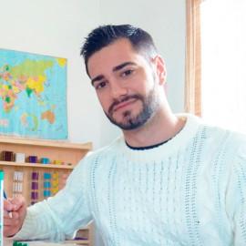 Juan Francisco Serrano Maestro Escuela Montessori