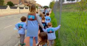 La Vuelta al Cole contra la leucemia infantil - Montessori Caracoliris 2