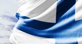 Modelo Educativo Finlandia Bandera
