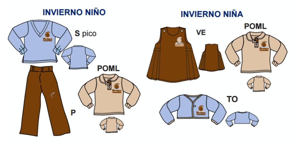 Uniformes De Colegio Montessori Caracoliris 2020 Invierno